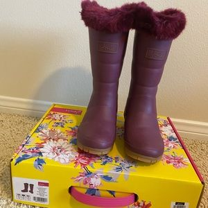 Joules kid boots